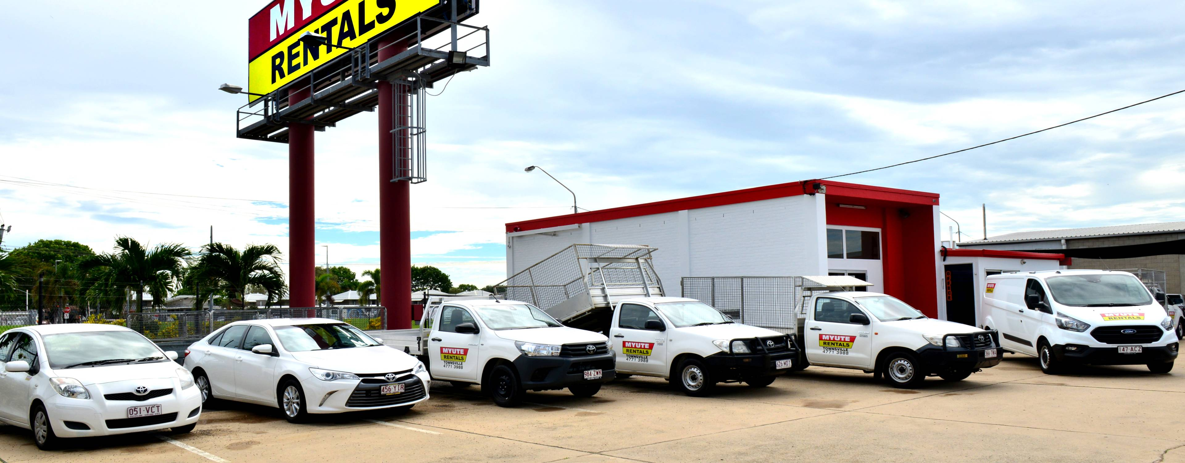 trailer hire townsville